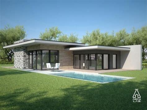 modern home plans modern single story house 5 flat roof modern house plans one story architectural