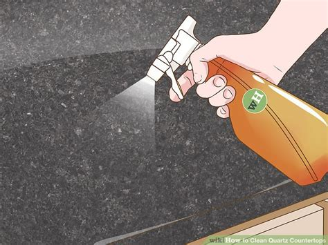 what to clean quartz countertops with 4 ways to clean quartz countertops wikihow