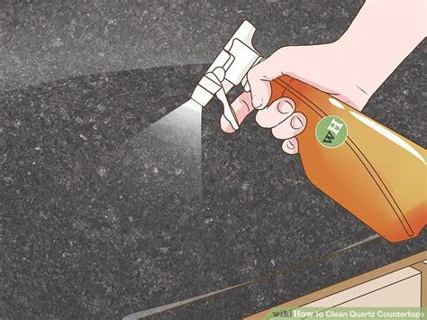 Vinegar On Quartz Countertops - 4 ways to clean quartz countertops wikihow