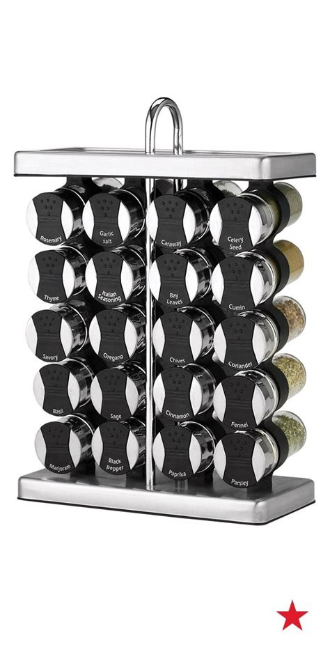 designer spice rack martha stewart collection 21 space saver spice rack