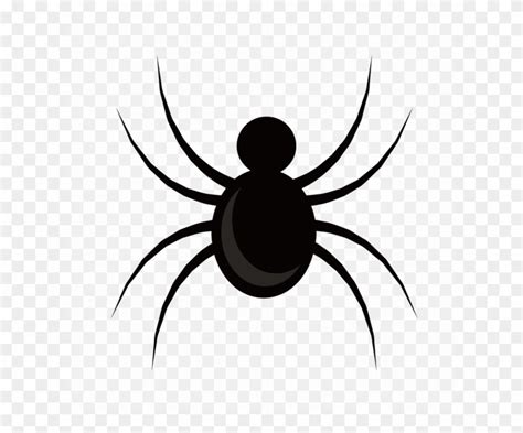 black spider png image cartoon image  spider clipart