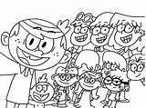 Loud Coloring Pages Printable Colouring Print Cartoon Sheets Sheet Cute Christmas Lineart Books Cool Selfie Lincoln Printables Truck Lynn Template sketch template