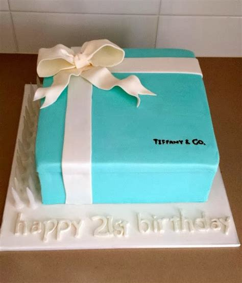 tiffany  birthday cake ideas crafty morning