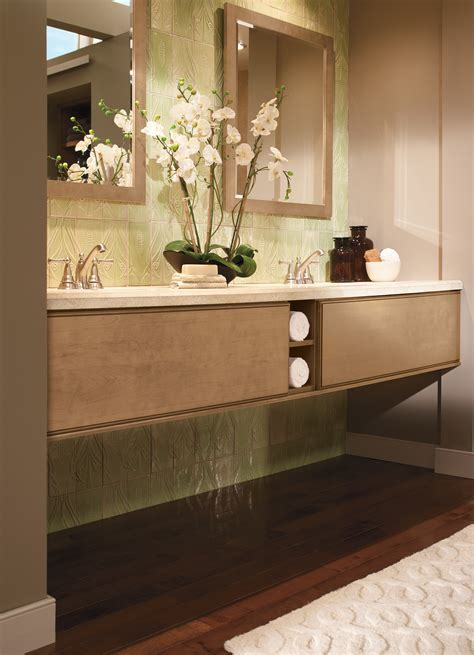 Narrow Bathroom Vanity Cabinets And Modern Contemporary