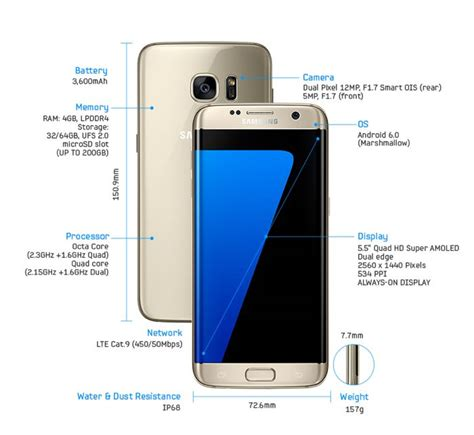 samsung galaxy edge s7 samsung galaxy s7 edge specifications geeky gadgets