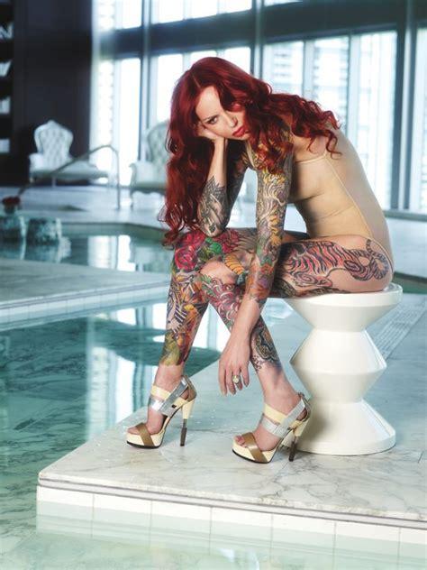 Lea Vendetta Women With Tattoos Body Art Pinterest