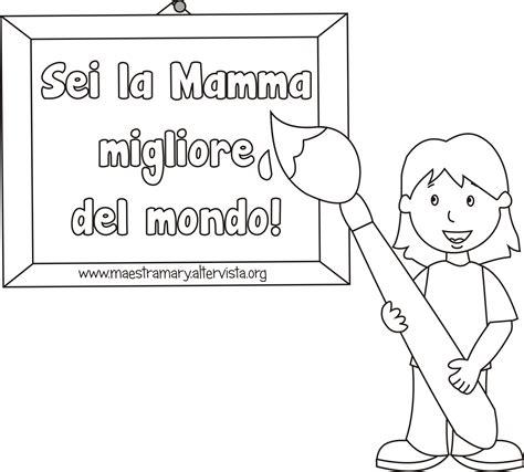disegni per la mamma belli festa della mamma disegni da colorare maestra
