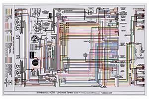 Wiring Diagram  1970 Tempest  Lemans  Gto  11x17  Color