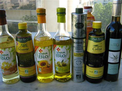 huile de cuisine régime quelle huile alimentaire choisir plus mince