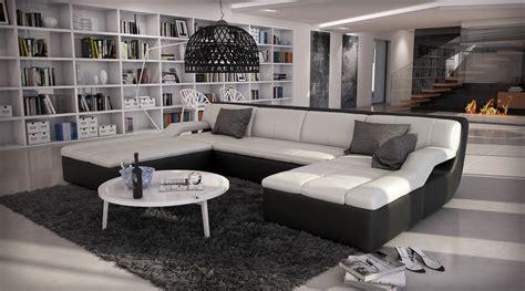 canape d angle en u canapé d 39 angle design en cuir large 1 789 00
