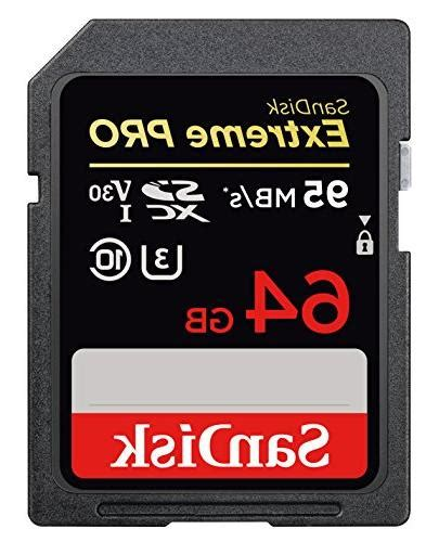Answer yes, the sandisk®️ sdxc extreme pro 128gb memory card will work in the nikon d7500 as it supports the sdxc memory cards of upto 512gb capacity. SanDisk Extreme Pro 64GB SDXC UHS-I Memory Card