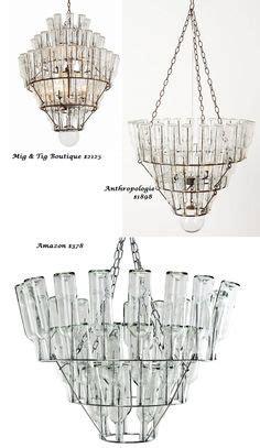 Leitmotiv Wine Bottle Chandelier  Lamps & Lighting Ideas
