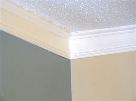 crown molding weekend project how to create faux crown molding hgtv