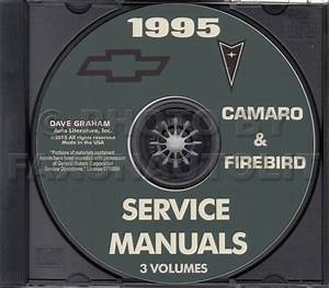 1995 Camaro  Firebird  And Trans Am Repair Shop Manual Original Supplement Mid