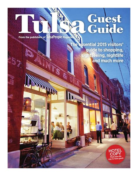 2015 tulsa guest guide by langdon publishing co issuu