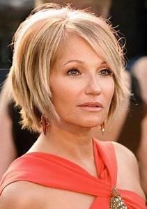 Coupe De Cheveux Pour Visage Rond Femme 50 Ans : coupe de cheveux femme 50 ans visage rond ~ Melissatoandfro.com Idées de Décoration