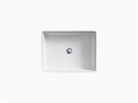 kohler square vanity sink k 2882 verticyl undermount rectangular sink kohler