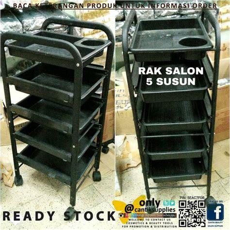 Rak Salon Trolley Salon 5 Susun B jual rak salon trolley salon 5 susun impor di lapak sentra