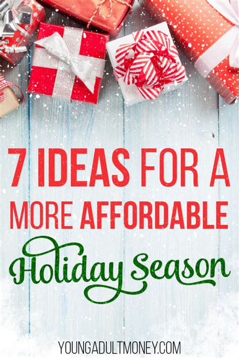 Affordable Holidays 7 ideas for a more affordable season