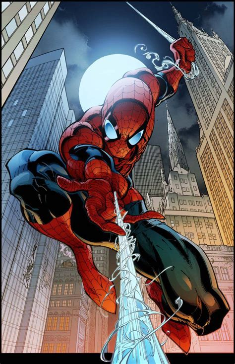 Spider Man Cover 7 By Timtownsend-Colored | Spiderman ...