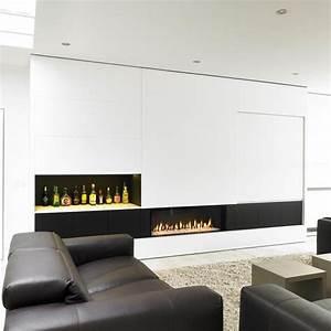 Tv Wand Modern : foca tv wand met inbouwcassette en barkast nieuw huis ~ Michelbontemps.com Haus und Dekorationen