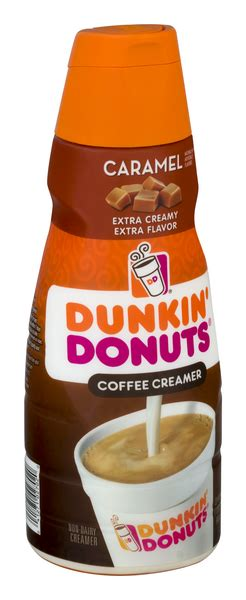 Head over to kroger and get dunkin' donuts coffee creamer for only $1.24 after coupon and mega sale! Dunkin' Donuts Caramel Extra Extra Coffee Creamer | Hy-Vee Aisles Online Grocery Shopping