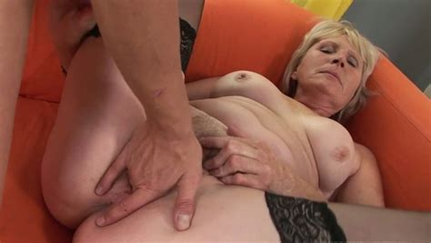 Old Woman Gets Her Hairy Pussy Fucked In Missionary Position
