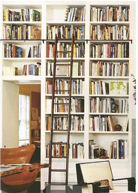 ikea library ladder mel liza i heart built in bookcases