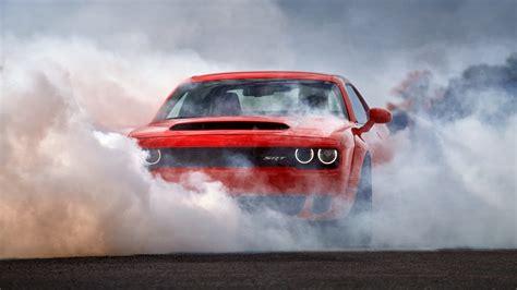 Wallpaper Dodge Challenger Srt Demon, 2018, Automotive