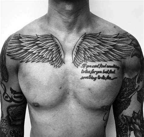 wing tattoos  chest designs ideas  meaning tattoos