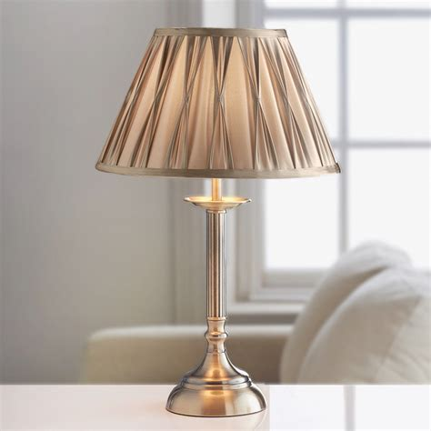 B&M: Oxford Reed Table Lamp