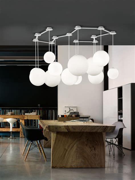 modo illuminazione multiball suspended lights from modo luce architonic