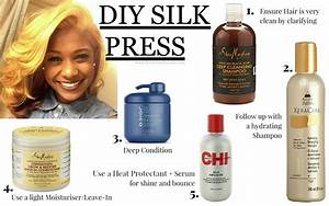 HOW TO ACHIEVE THE PERFECT DIY SILK PRESS