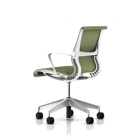 Herman Miller Setu Chair Dimensions by Herman Miller White Frame Setu Chair Office Furniture