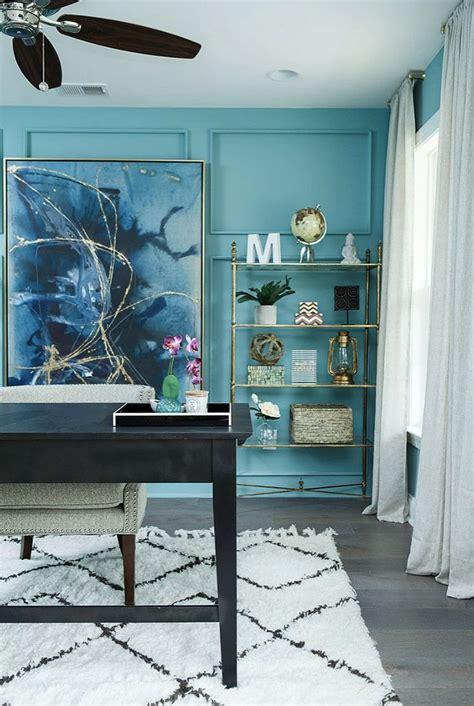 teal office ideas  pinterest teal paint teal paint colors  teal bath inspiration