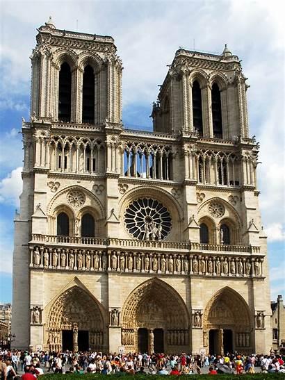 Dame Notre Paris France Clip Clipart Cathedral
