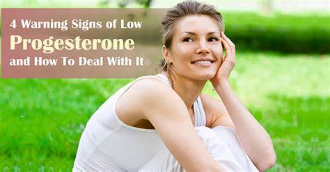 4 Warning Signs of Low Progesterone - Bestadvisor.com