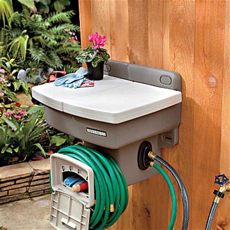 Garden Hose Sink by Outdoor Garden Sink Craziest Gadgets