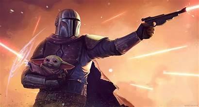 Mandalorian Yoda 4k Wallpapers Wars Star Backgrounds