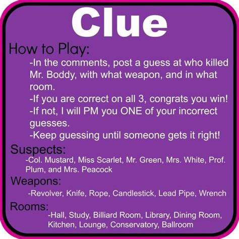 how to play clue play clue online multiplayer