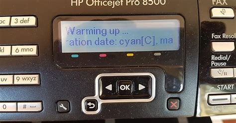 Hp Resume Button by Re Hp Officejet Pro 8500 Where Is The Resume Button Hp Support Forum 6093629