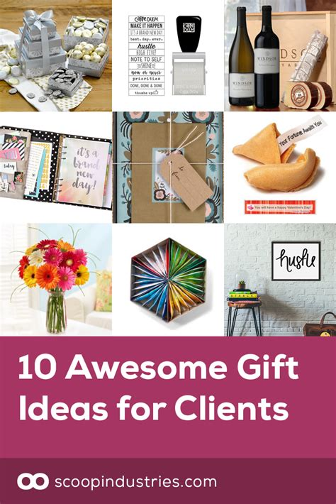 10 awesome gift ideas for clients scoop industries