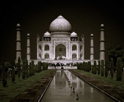 taj mahal  night wallpaper  gallery