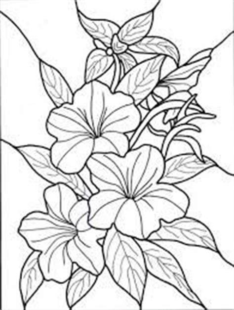 Free Printable Stencil Patterns   Flower clip art