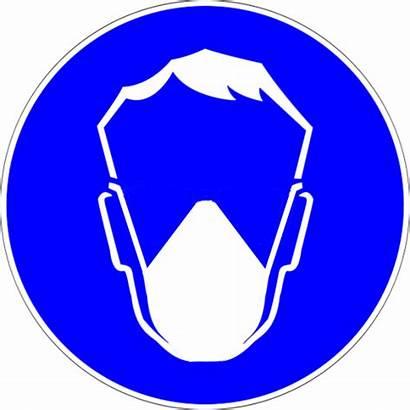 Mask Dust Safety Face Transparent Clipart Mandatory