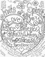 Coloring Binder Spirit Fruits Fruit Bible Sheets Sunday Printable Adult Galatians Colouring Covers Peace Glory Poetry Activities Verse Holy Crafts sketch template