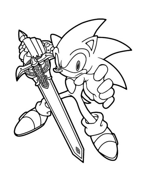 What is so great about printable? Get This Printable Sonic Coloring Pages Online 711864