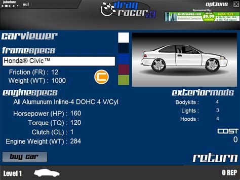 Drag Racer V3 Hacked (cheats)