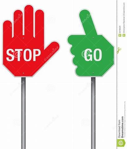 Stop Yes Signs Clipart Ja Oui Tekens