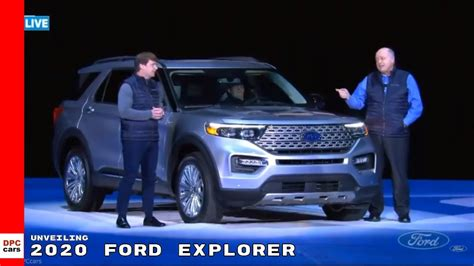 ford explorer unveiling youtube